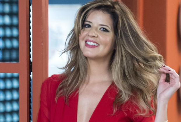 A atriz de Malhação da Globo, Mariana Santos. (Foto: Divulgação)