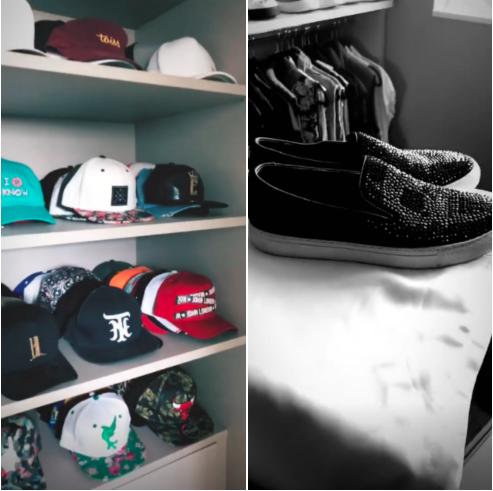 Closet de Nego do Borel (Foto: Reprodução/Instagram)