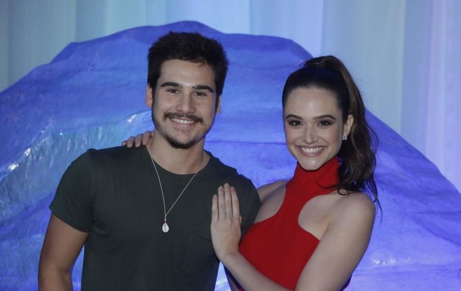 Nicolas Prattes e Juliana Paiva (Foto: Divulgação)