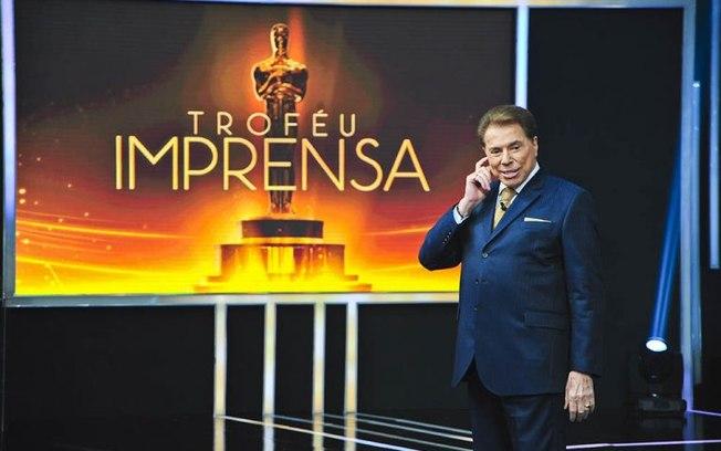Silvio Santos no comando do Troféu Imprensa, do SBT (Foto: Divulgação)