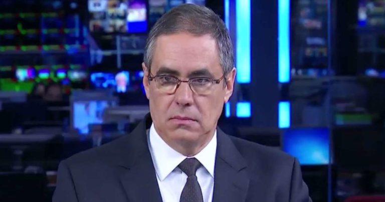 O jornalista Fábio Pannunzio (Foto: Divulgação/Band)