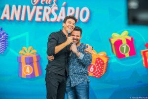 Rodrigo Faro e Eduardo Costa (Foto: Divulgação)