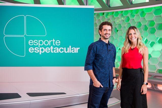 Felipe Andreoli e Fernanda Gentil (Foto: Divulgação/Globo)