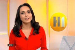 A jornalista Izabella Camargo foi contratada pelo governo Bolsonaro (Foto: Reprodução)