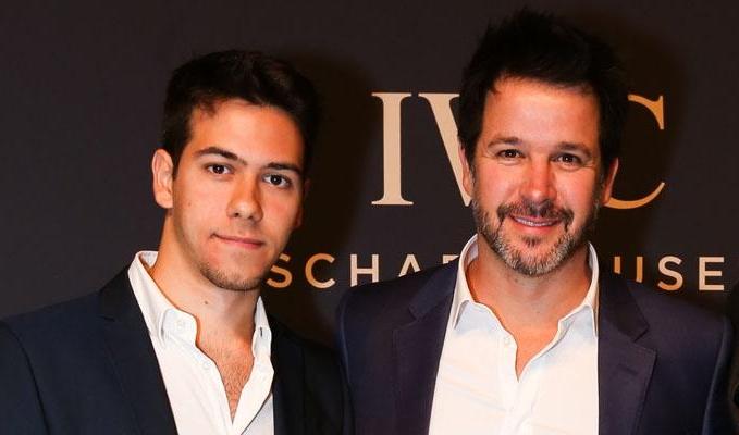 Murilo Benício e o filho, Antonio Benício; pai e filho estarão em Amor de Mãe, próxima novela das nove da Globo (Foto: Reprodução)