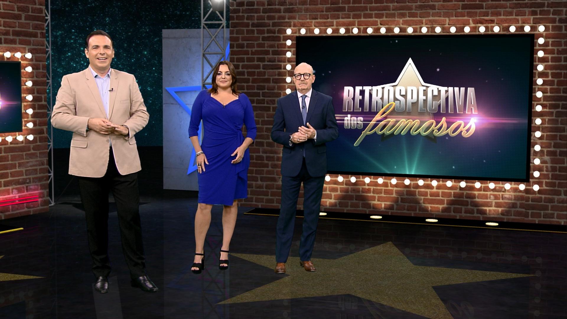 Trio vence a Globo todos os dias e apresenta a Retrospectiva dos Famosos (Foto: Reprodução)