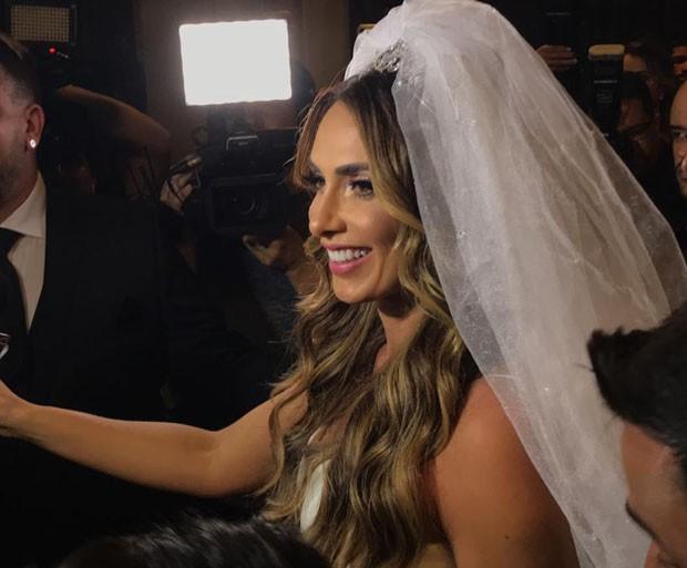 Casamento de Nicole Bahls e Marcelo Bimbi (Foto: Quem)