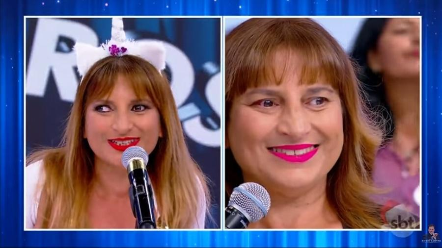 Adriana Bacchi, a MC Vesga (Foto: Reprodução)