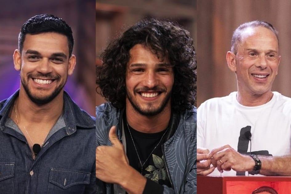 Caíque Aguiar, João Zoli e Rafael Ilha (Foto: Reprodução)