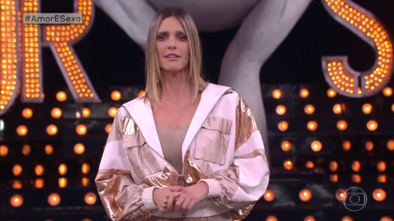 Fernanda Lima no Amor e Sexo (Foto: Reprodução/Globo)