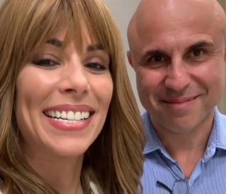 Ana Furtado e seu médico Fernando Cotait Maluf (Foto: Reprodução/Instagram)