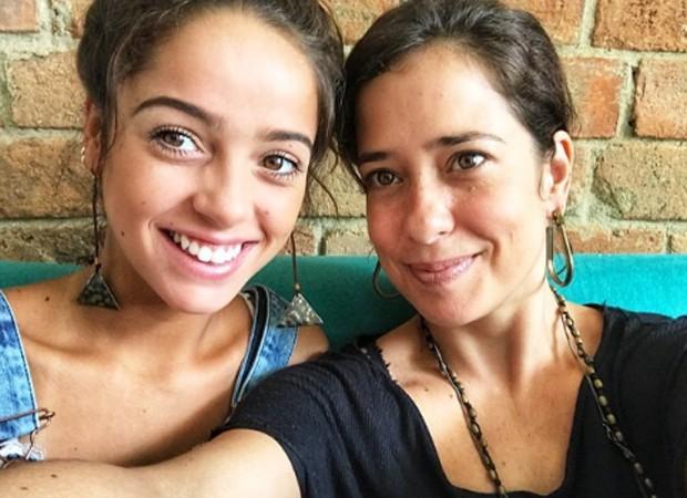 Ana Clara Winter e Paloma Duarte (Foto: Reprodução)
