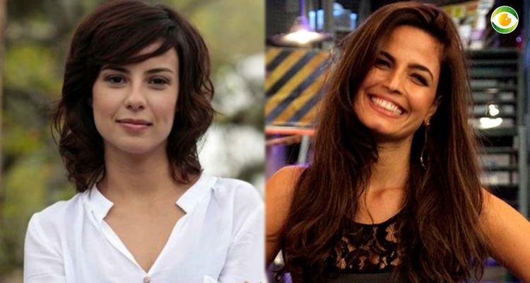 Emanuelle Araújoe e Andreia Horta, atrizes da Globo