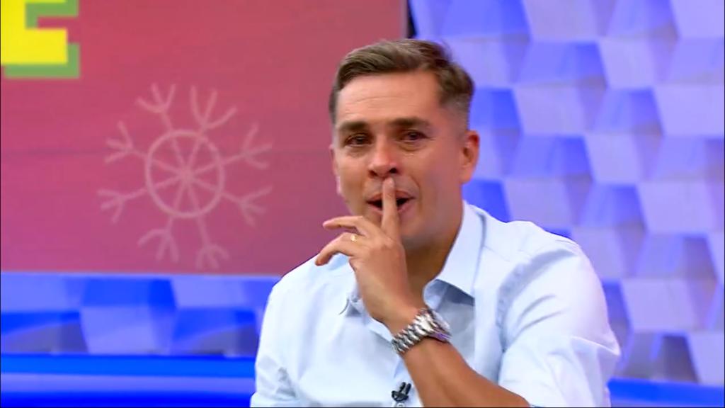Ivan Moré foi aos prantos na Globo (Foto: Reprodução)