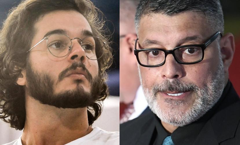 Túlio Gadelha e Alexandre Frota (Foto: Reprodução)