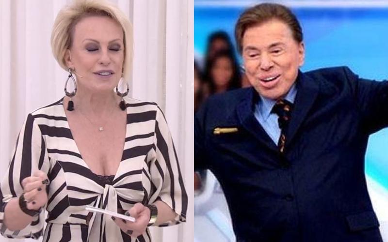 aceef8d52 Ana Maria Braga desobedece a Globo e faz revelação sobre Silvio Santos