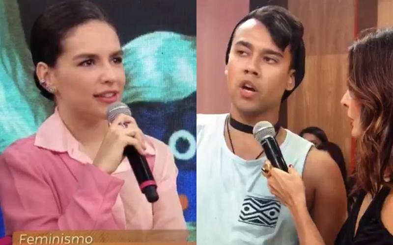 Kéfera no Encontro na Globo (Foto: Reprodução)