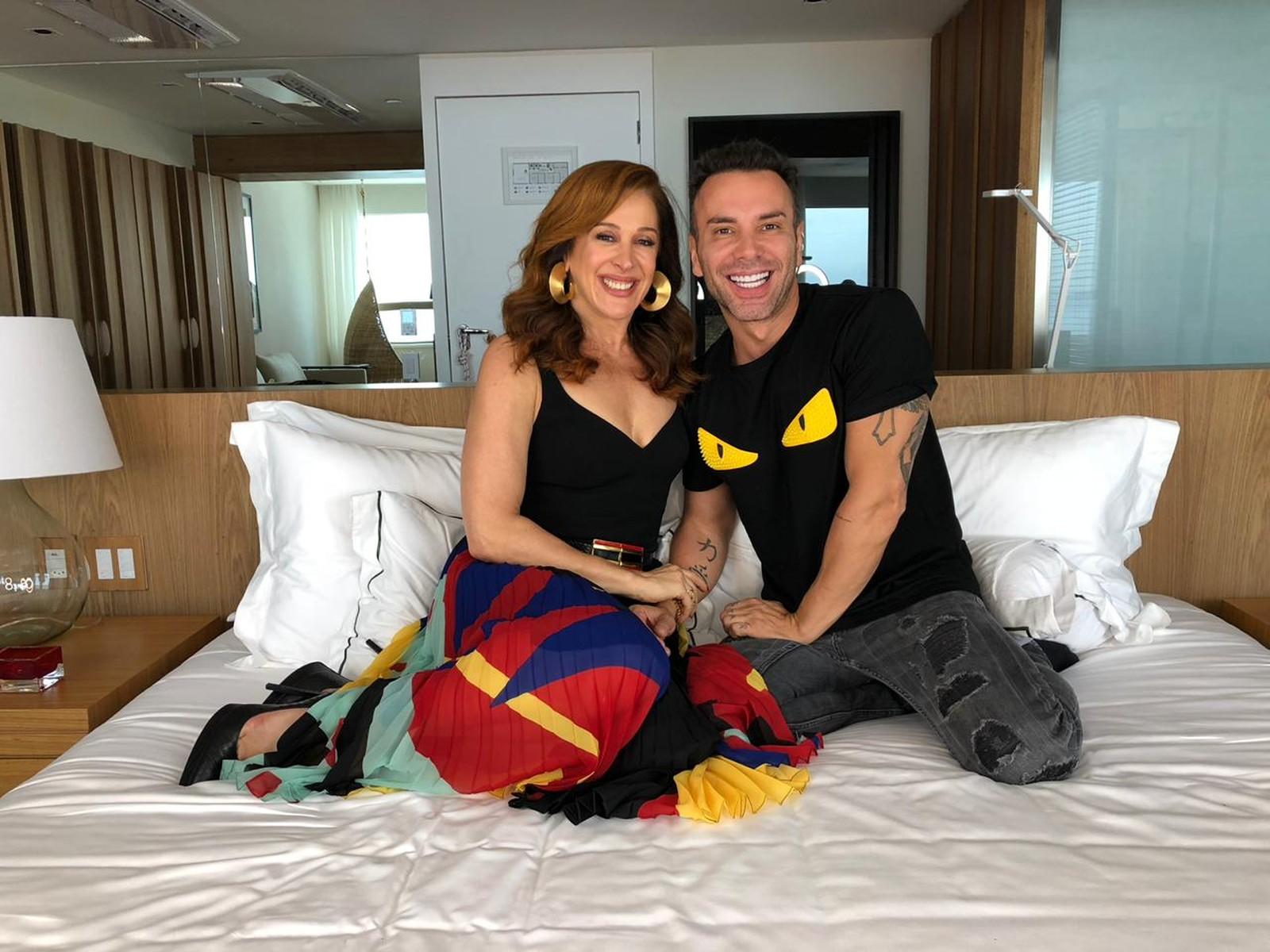Claudia Raia e Matheus Massafera (Foto: Reprodução/Globo)