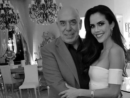 A apresentadora Daniela Albuquerque e o marido Amilcare Dallevo Jr., dono da Redetv (Foto: Reprodução)