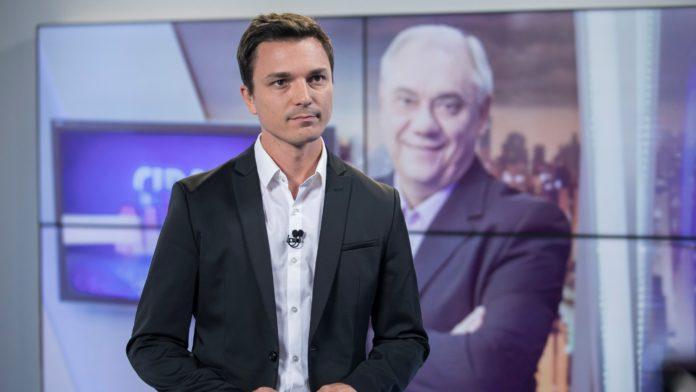 Filho de Marcelo Rezend, Diego Esteves (Foto: Reprodução TV Record)
