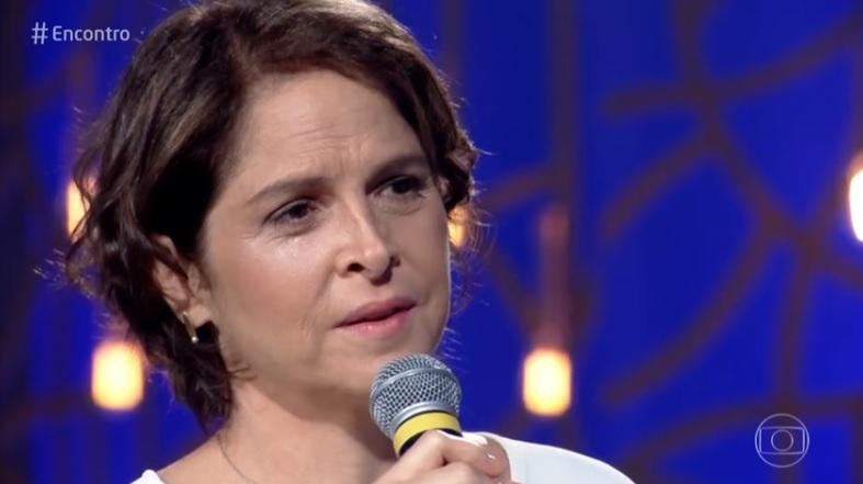 Drica Moares na Globo no Encontro com Fátima Bernardes