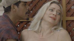 Fabim e Marilda em cena de O Sétimo Guardião (Foto: Reprodução)