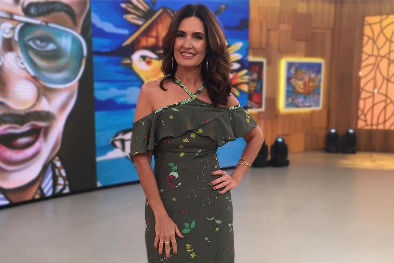 A apresentadora Fátima Bernardes (Foto: Divulgação)