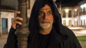 León (Eduardo Moscovis) em O Sétimo Guardião (Foto: Globo/Estevam Avellar)