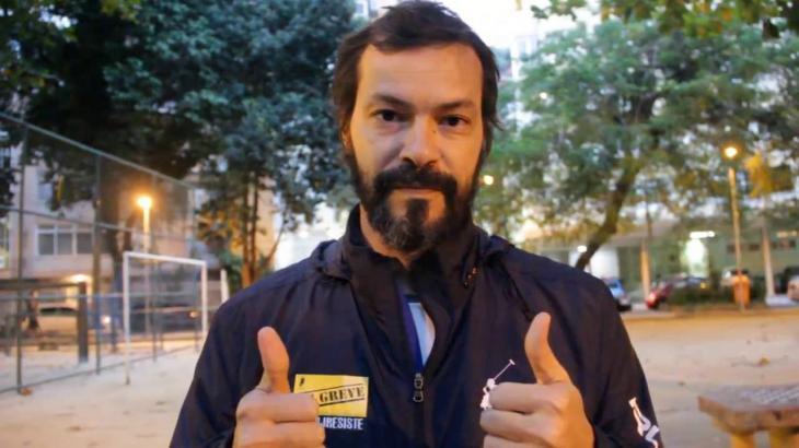 O ator Heitor Martinez