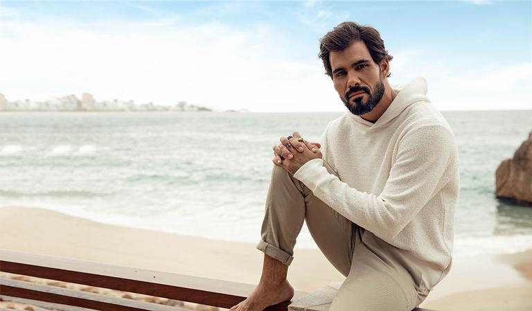 O ator Juliano Cazarré (Foto: André Nicolau)