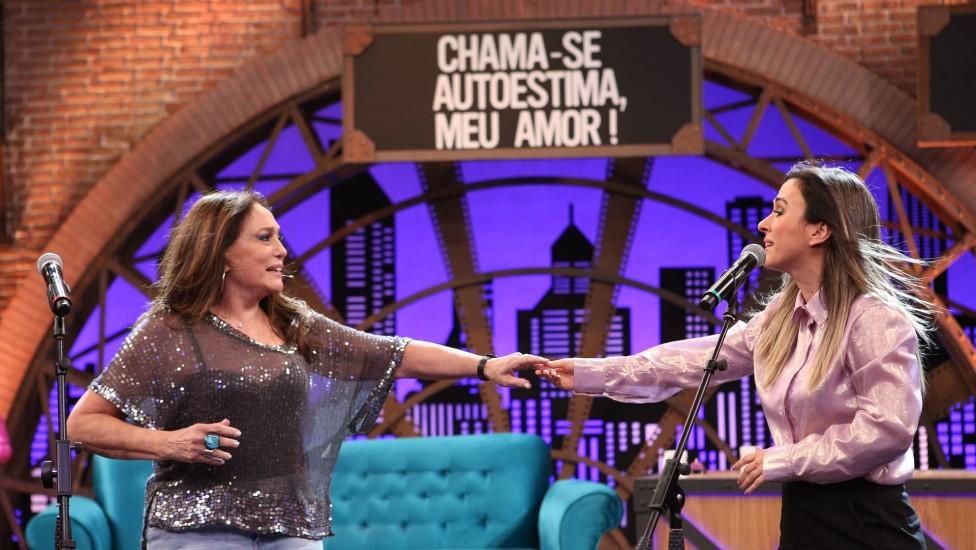 Tatá Werneck e Susana Vieira (Foto: Gianne Carvalho/Divulgação Multishow)