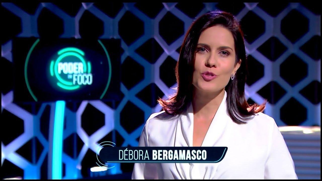 Débora Bergamasco comanda o Poder em Foco (Foto: Reprodução/SBT)