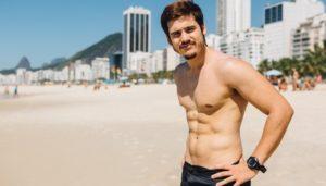 O ator Nicolas Prattes (Foto: Fabiano Battaglin/Globo)