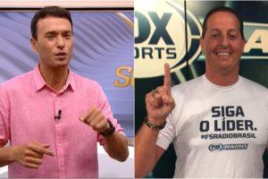 Seleção SporTV sofre com derrotas para o Fox Sports Radio. (Foto: Montagem/Reprodução)
