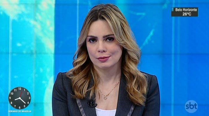 A jornalista Rachel Sheherazade (Foto: Reprodução/SBT)