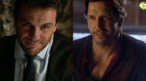Rodrigo Lombardi e Vladimir Britcha são atores da Globo
