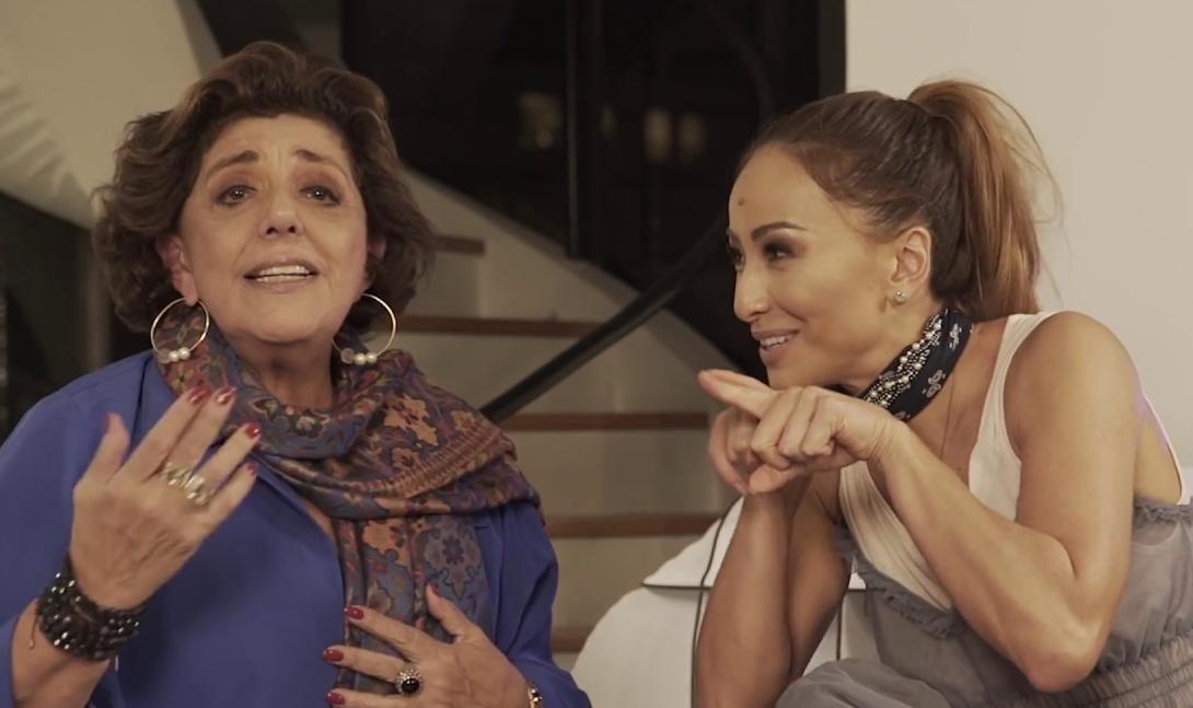Leda Nagle e Sabrina Sato (Foto: Reprodução)