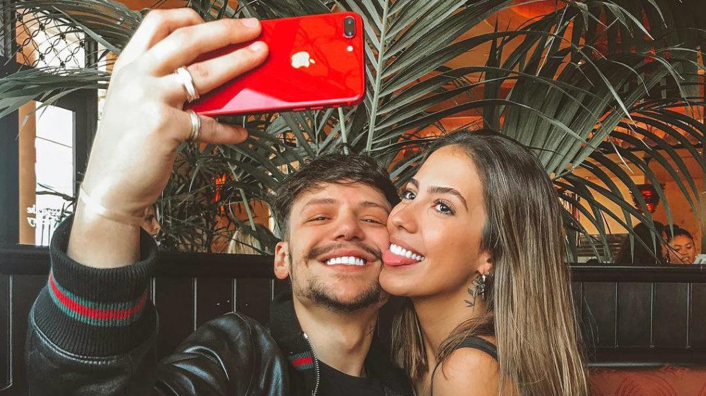 Saulo Poncio e Gabi Brandt (Foto: Reprodução)