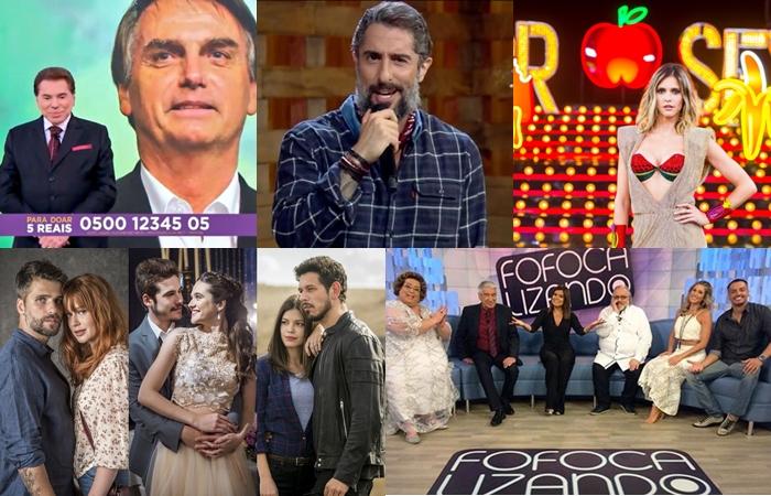 Os acontecimentos mais marcantes do 2018 na TV brasileira (Foto: Montagem/TV Foco)