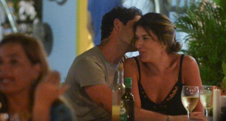 Alexandre Pato e Rebeca Abravanel (Foto: Francisco Cepeda/AgNews)