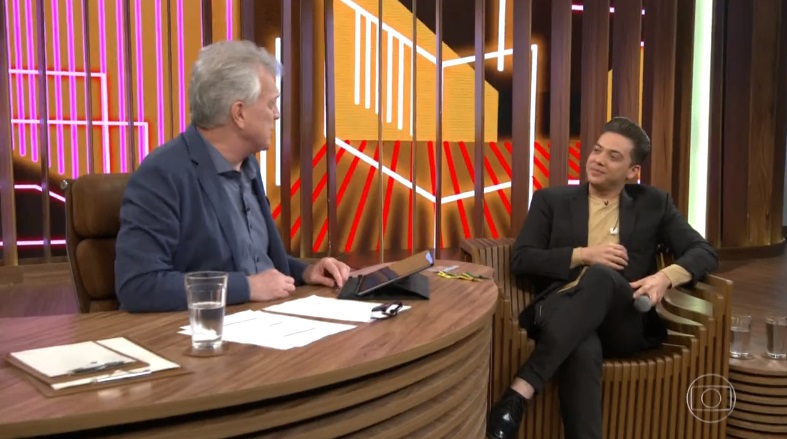 Cantor Wesley Safadão fez revelações sobre sua vida e carreira no Conversa com Bial