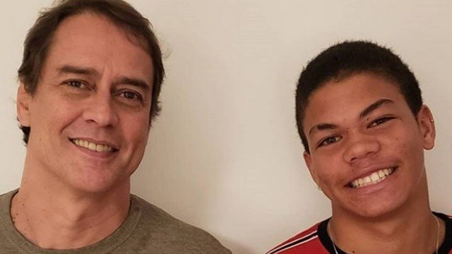 Marcello Antony parabeniza o filho Francisco pelos 16 anos do rapaz Foto: Reprodução/Instagram