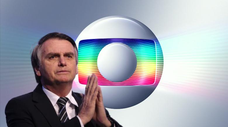 Jair Bolsonaro x Globo (Foto: Reprodução/Montagem)