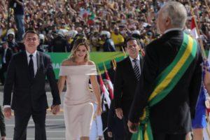 A posse do presidente Jair Bolsonaro (Foto: Divulgação)