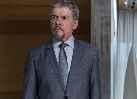 O ator José Mayer em A Lei do Amor, sua última novela na Globo (Foto: Globo/Estevam Avellar)