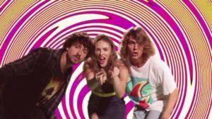 Os protagonistas da novela Verão 90 (Foto: Reprodução/Globo)
