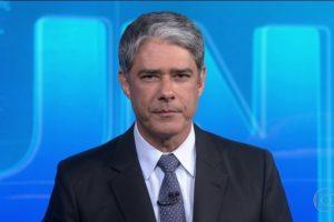 O apresentador William Bonner no Jornal Nacional (Foto: Reprodução/Globo)