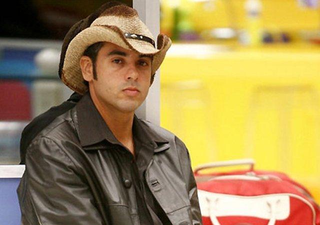 BBB: André Cowboy (Foto: Reprodução/ Globo)