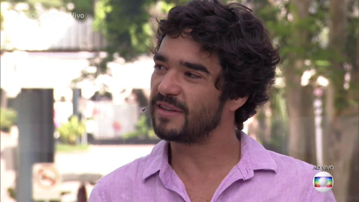 Caio Blat na Globo (Foto: Reprodução)