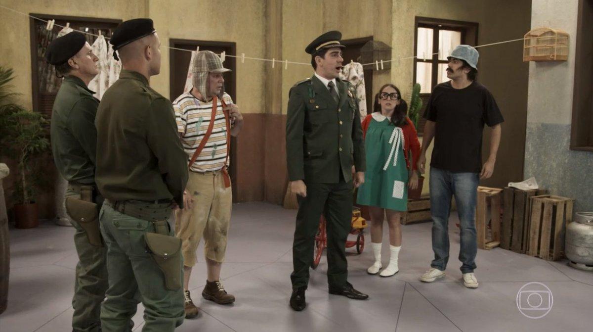 Jair Bolsonaro foi imitado por Marcelo Adnet (Foto: Reprodução)